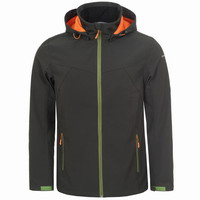 Jacket Softshell Icepeak Lukas Men Green/Orange 457974682-946