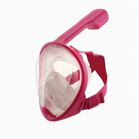 Παιδική Μάσκα Junior Full Face Mask Blue Wave Pink 61061