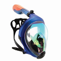 Μάσκα Full Face Xdive Spark Blue 61066