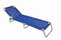 Ξαπλώστρα Μεταλλική Summer Club Ø22 Textilene Μπλε 19352