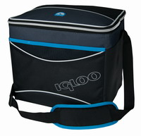 Τσάντα Ψυγείο Igloo Collapse & Cool 24 24Lt Black/Blue 41318