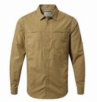 Πουκάμισο Craghoppers Kiwi Trek Long Sleeved Shirt Kangaroo CMS477-9JN