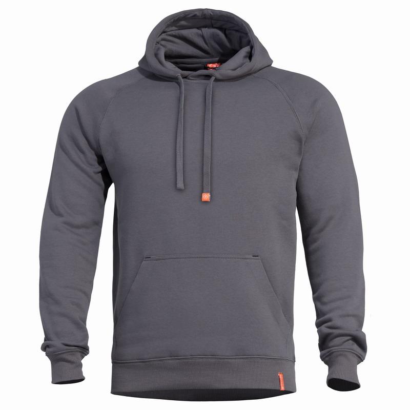 Μπλούζα Pentagon Phaeton Hood Sweater Cinder Grey K09021-17