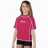 Παιδικό Κοντομάνικο Μπλουζάκι Με Προστασία UV+40 Seac Sub T-Sun Short Ping 15500160