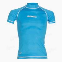 Μπλουζάκι Κοντομάνικο Με Προστασία UV+40  Seac Sub T-Sun Short Boy Blue 1550016