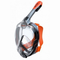 Μάσκα Full-Face Seac Sub Unica Black/Orange 1700001001523