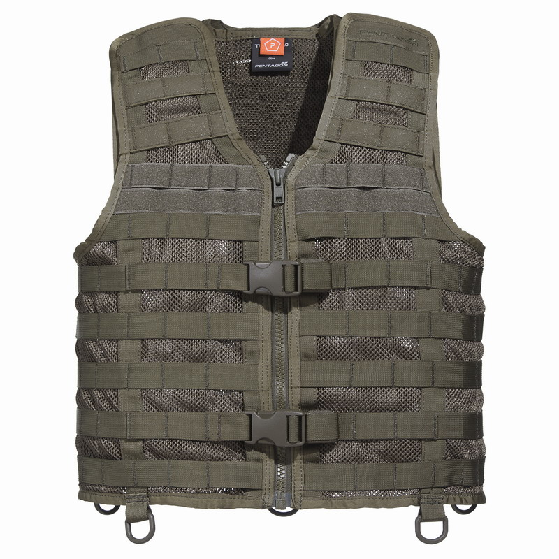Γιλέκο Tactical Pentagon Thorax Molle Vest 2.0 Olive K20001-06