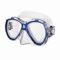 Μάσκα SAEC SUB ELBA Μπλε/Διάφανη Σιλικόνη (0750041001160)