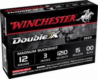 """Φυσίγγια Winchester Double-X Turbo 15Βολο 3"""" X12XC3B5"""
